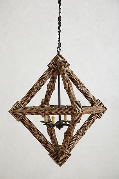 Diamond-Shaped Geometry Decor