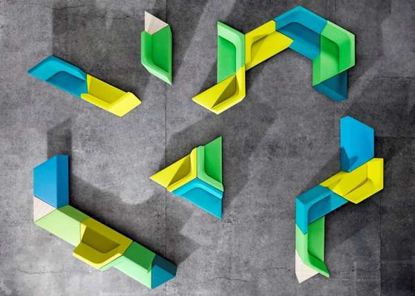 Colorful Reconfigurable Furniture