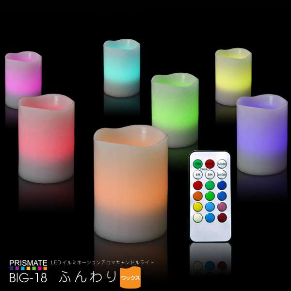 Illuminating LED Candles