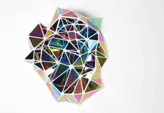 Prismatic Glass Sculptures