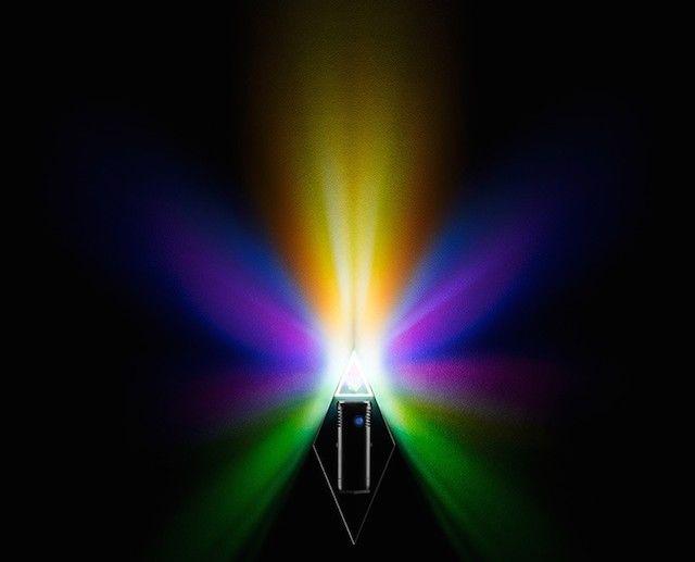 Prismatic Lamp Decor