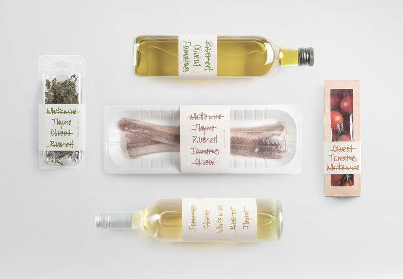 List-Inspired Food Packaging