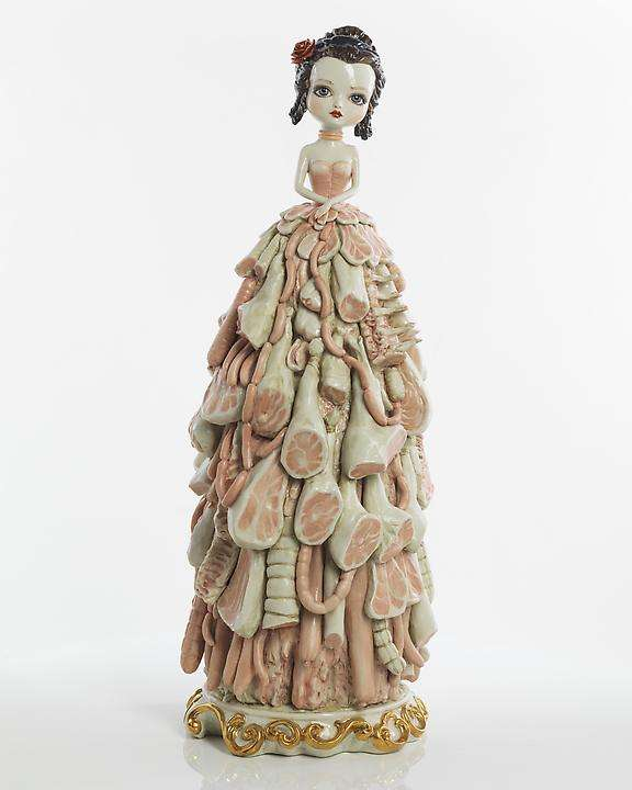 Meat-Dressed Porcelain Dolls