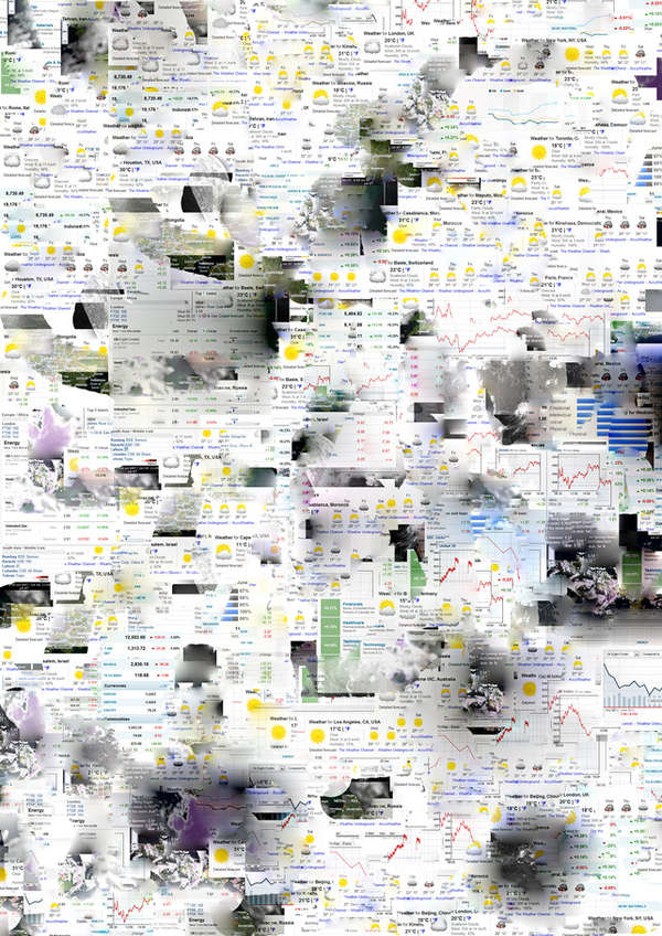 Internet Data Collages