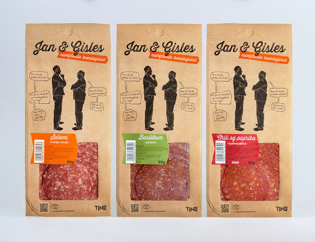 Graphical Food Branding : Processed Meat Packaging