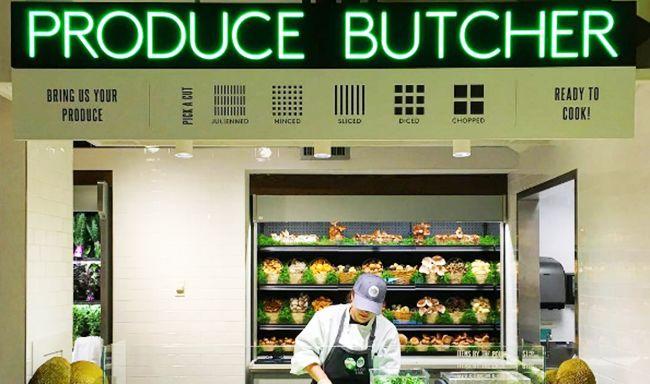 Produce Preparation Stations
