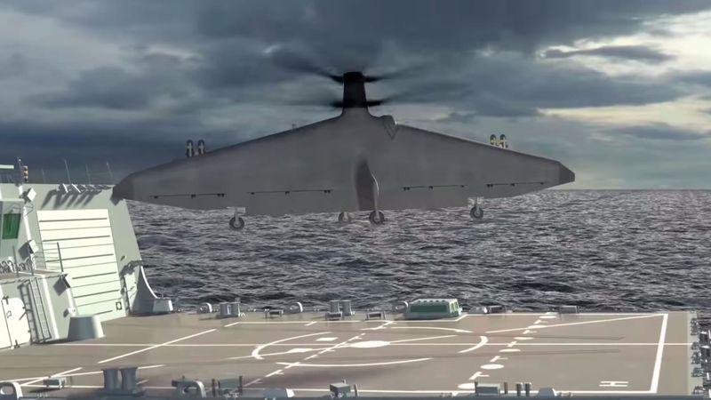 Vertical Launch Professional Drones