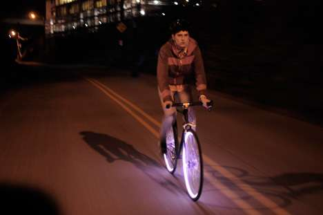 Luminous Bicycle Safety