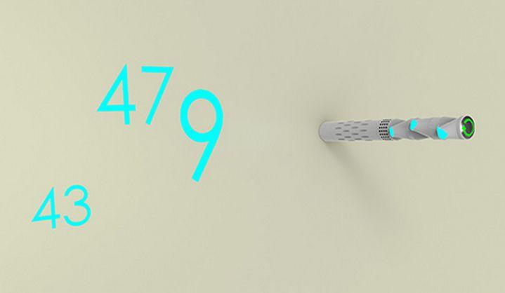 Minimalist Projected Timepieces Projection Wall Clock – Minimalist Wall Clock