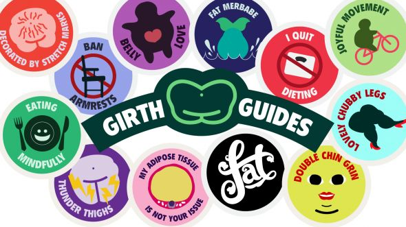 Body Positive Merit Badges