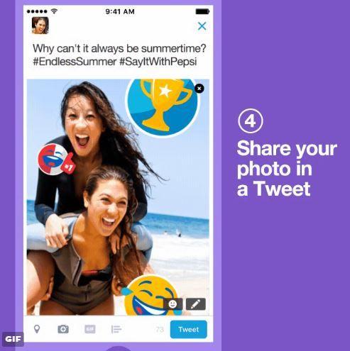 Branded Social Media Stickers