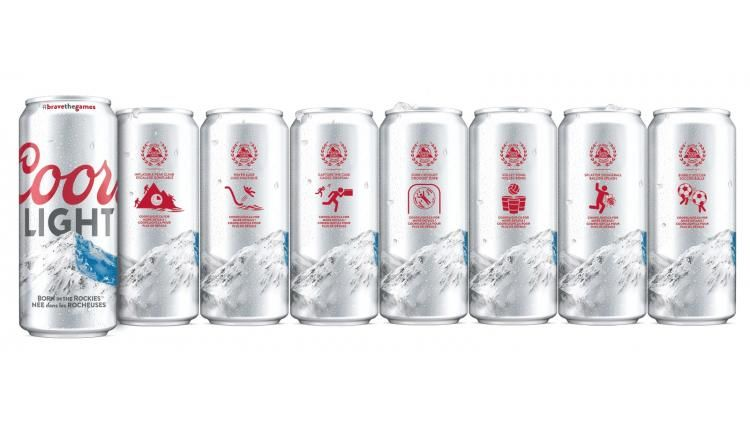 Sporty Promotional Cans