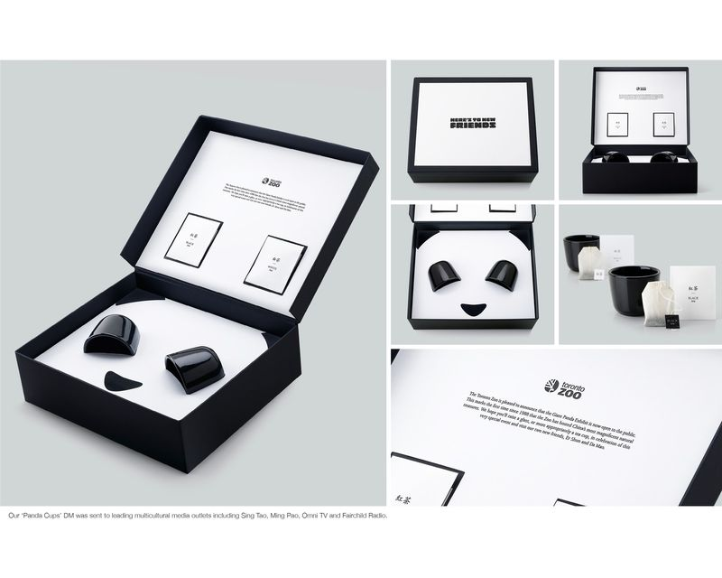 Panda Tea Boxes