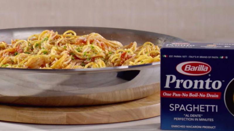 Boil-Free Pasta