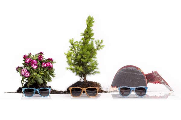 Foliage-Filled Lookbooks