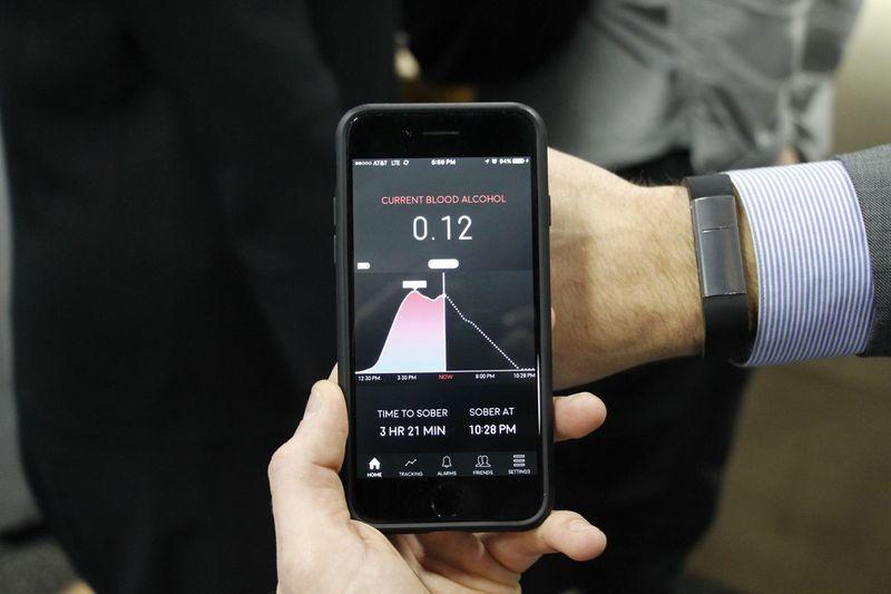 Alcohol-Sensing Wristbands