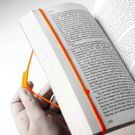 Rubber Band Bookmarks