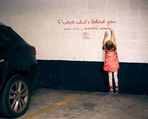 Car Safety Graffiti Art
