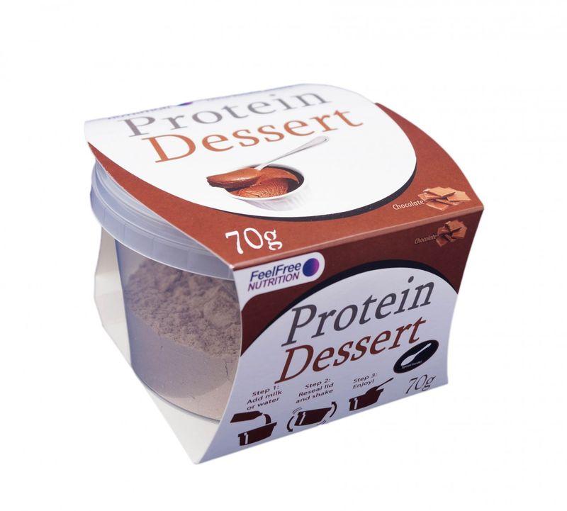 Portable Protein Desserts