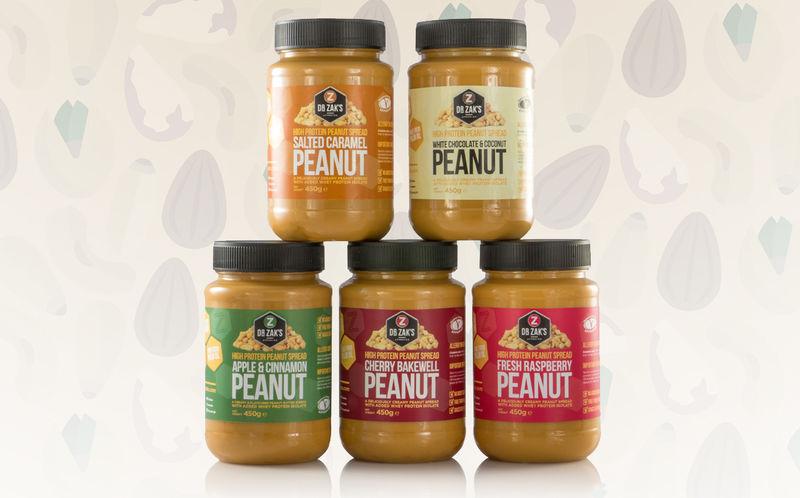 High-Protein Peanut Spreads