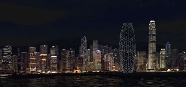 Glowing Honeycomb Structures