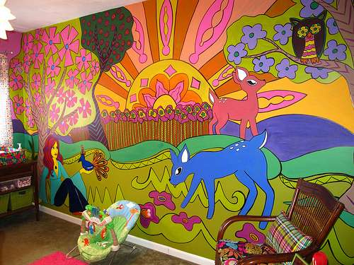 psychedelic decor ideas My Web Value