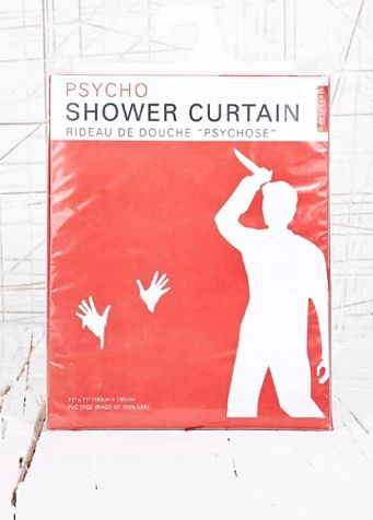 Horror Movie Shower Drapes Psycho Shower Curtain