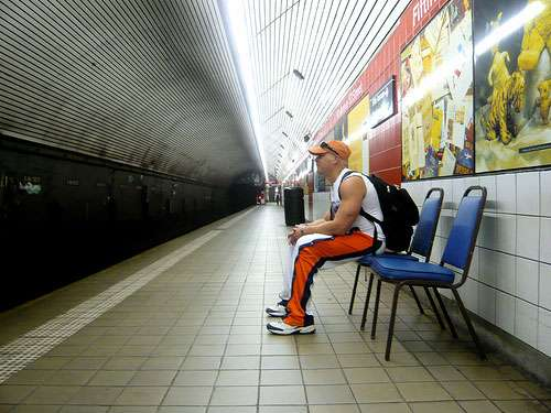 Subway Street Art: The Take a Seat Project
