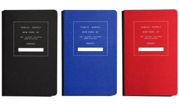 Minimalist Art-Funding Notebooks