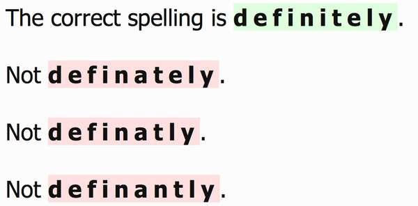 Public Spelling Rants
