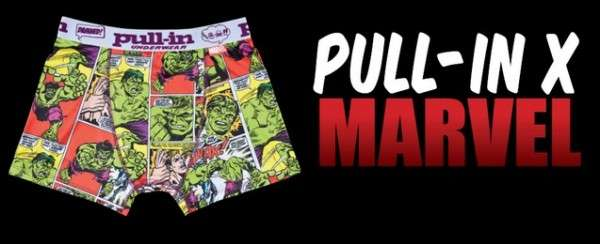 Pull-In Underwear x Marvel Collection