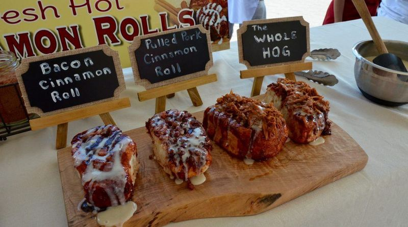 Pork-Topped Pastries