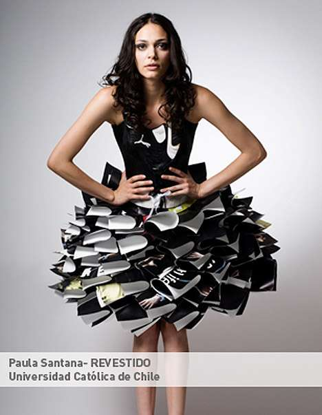 Dresses Made of Old Shoes