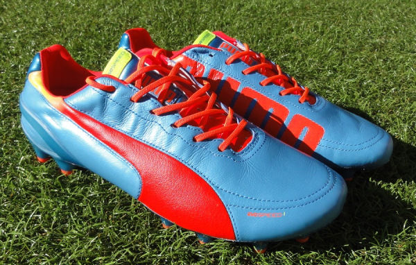 Speedy Leather Soccer Boots
