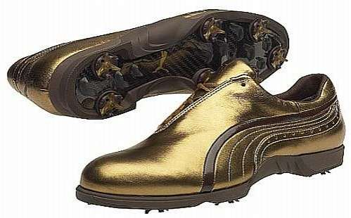 Gold Footwear On The Green