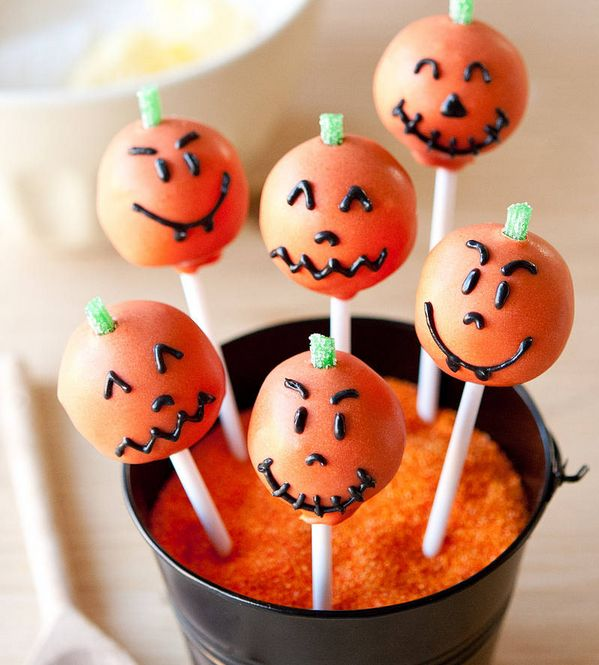 Personified Pumpkin Confections