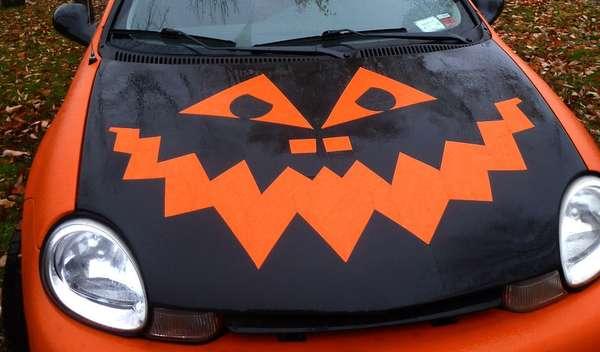 Festive Gourd Car Decorations