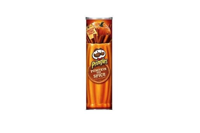 Stackable Pumpkin Chips