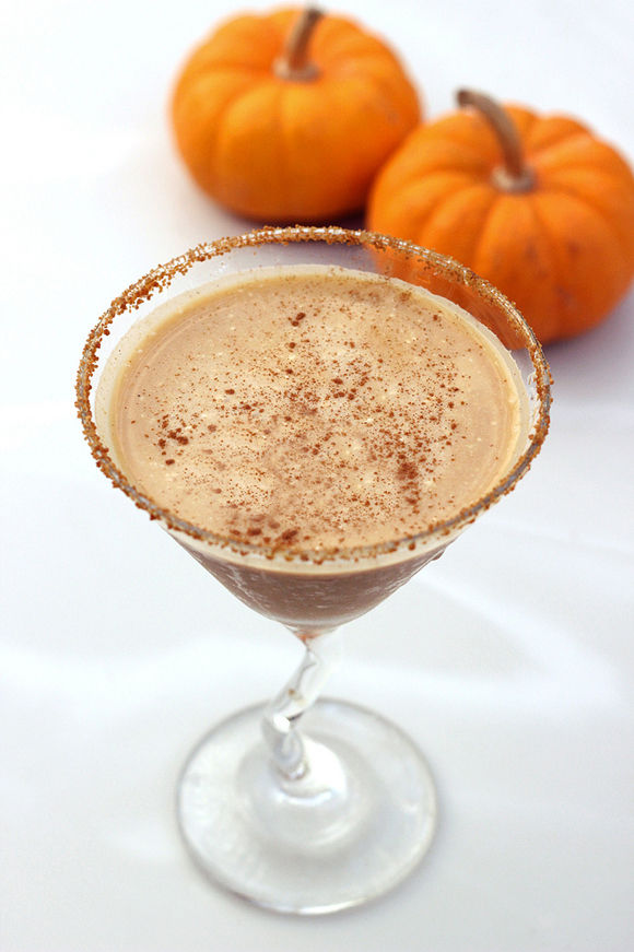 Vegan Pumpkin Cocktails