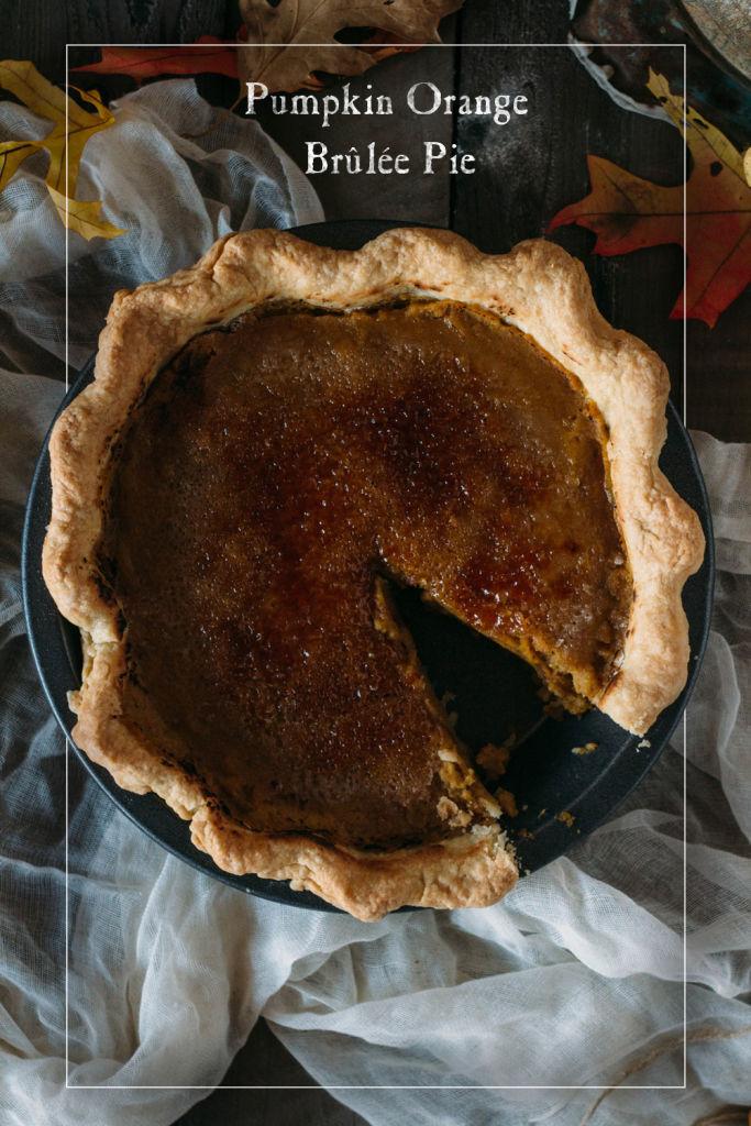 Brulee Pumpkin Pies