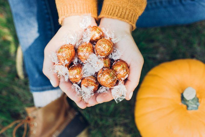 Spiced Pumpkin Truffles