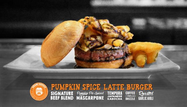 Spiced Pumpkin Burgers