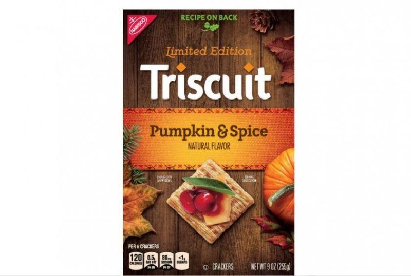 Pumpkin-Spiced Crackers