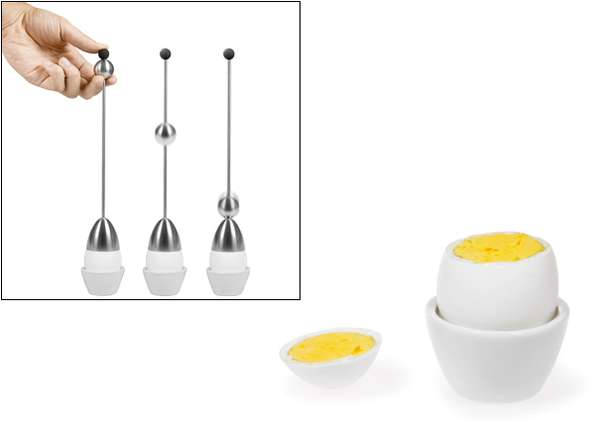 Punch-Bell Egg Cracker