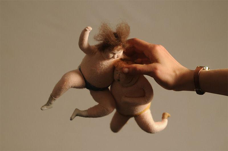Wrestling Puppet Films