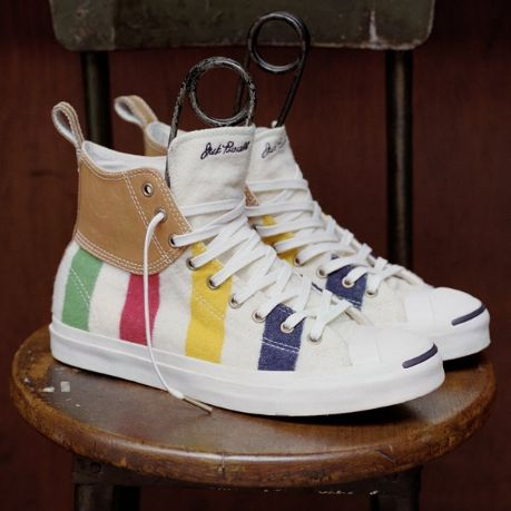 Vibrantly Striped Heritage Kicks