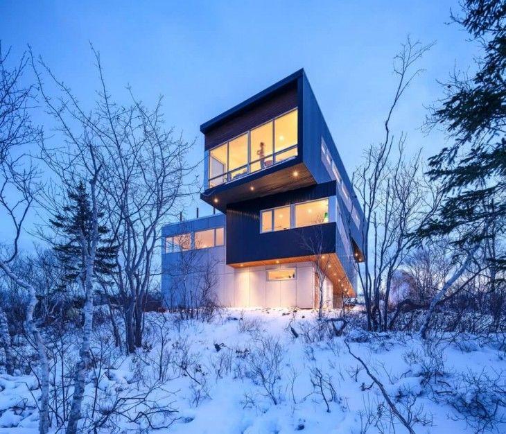 Stacked Hillside Homes