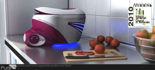 PURE fruit and vegetable purifier