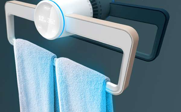 Sanitizing Bathroom Accessories Puredesign Dry Clean