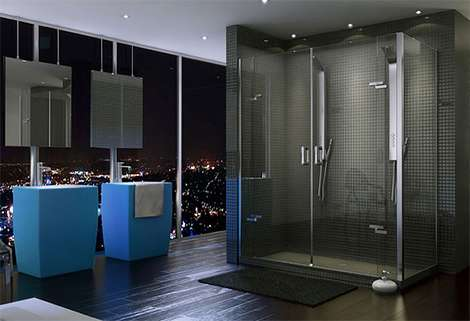 Ultra Minimalist Showers Purfect And Mechanix Shower